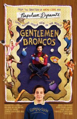 """Постер к фильму """"Необузданные джентльмены"""" /Gentlemen Broncos/ (2009)"""