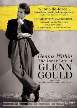 """Постер к фильму """"Гений внутри. Внутренняя жизнь Гленна Гульда"""" /Genius Within: The Inner Life of Glenn Gould/ (2009)"""