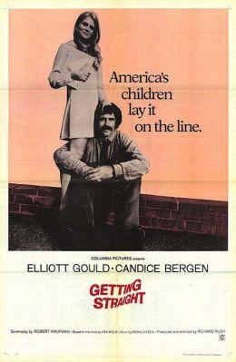 "Постер к фильму ""Верным курсом"" /Getting Straight/ (1970)"
