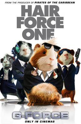 """Постер к фильму """"Миссия Дарвина"""" /G-Force/ (2009)"""