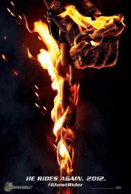 """Постер к фильму """"Призрачный гонщик 2 в 3D"""" /Ghost Rider: Spirit of Vengeance/ (2011)"""