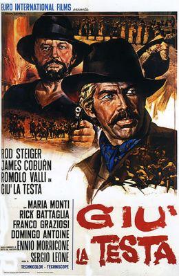 """Постер к фильму """"Пригни голову"""" /Giu la testa/ (1971)"""