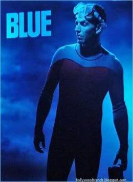 """Постер к фильму """"Голубая бездна"""" /Blue/ (2009)"""
