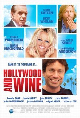 """Постер к фильму """"Голливуд для начинающих"""" /Hollywood & Wine/ (2010)"""