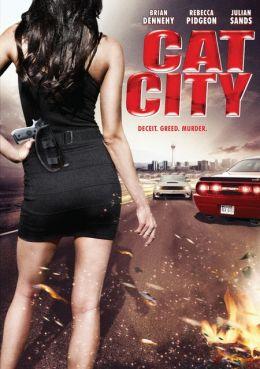"Постер к фильму ""Город-храм"" /Cat City/ (2008)"