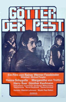"""Постер к фильму """"Боги чумы"""" /Gotter der Pest/ (1970)"""