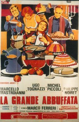 """Постер к фильму """"Большая жратва"""" /la Grande bouffe/ (1973)"""