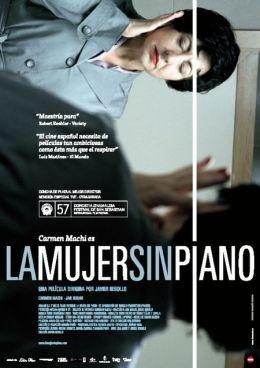 "Постер к фильму ""Женщина без пианино"" /La mujer sin piano/ (2009)"