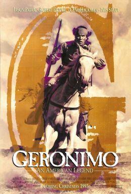 """Постер к фильму """"Джеронимо: Американская легенда"""" /Geronimo: An American Legend/ (1993)"""