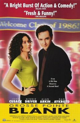 """Постер к фильму """"Убийство в Гросс-Пойнте"""" /Grosse Pointe Blank/ (1997)"""
