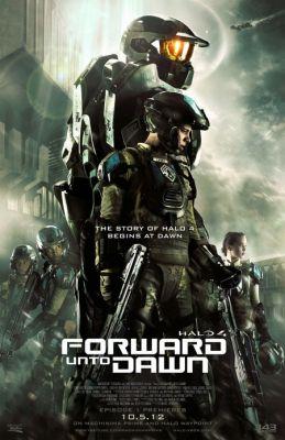 """Постер к фильму """"Halo 4: Идущий к рассвету"""" /Halo 4: Forward Unto Dawn/ (2012)"""