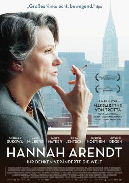 """Постер к фильму """"Ханна Арендт"""" /Hannah Arendt/ (2013)"""