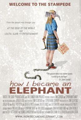 """Постер к фильму """"Как я стала слоном"""" /How I Became an Elephant/ (2011)"""