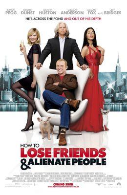 """Постер к фильму """"Как потерять друзей и заставить всех тебя ненавидеть"""" /How to Lose Friends & Alienate People/ (2008)"""