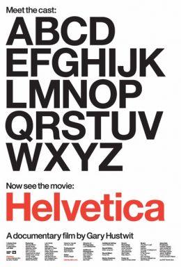 """Постер к фильму """"Гельветика"""" /Helvetica/ (2007)"""