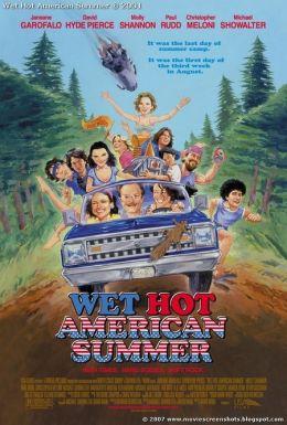 """Постер к фильму """"Жаркое американское лето"""" /Wet Hot American Summer/ (2001)"""