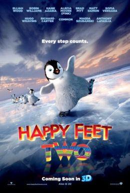 """Постер к фильму """"Делай ноги 2 в 3D"""" /Happy Feet 2 in 3D/ (2011)"""