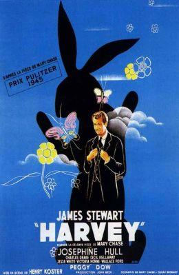 """Постер к фильму """"Харви"""" /Harvey/ (1950)"""