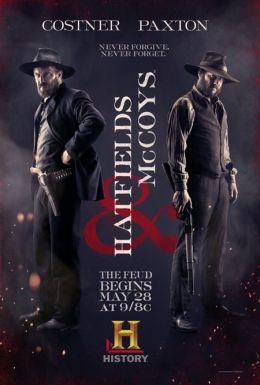 """Постер к фильму """"Хэтфилды и МакКои"""" /Hatfields & McCoys/ (2012)"""