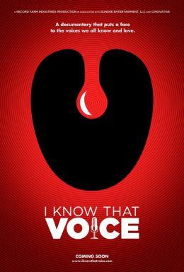 """Постер к фильму """"Я знаю этот голос"""" /I Know That Voice/ (2013)"""