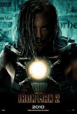 """Постер к фильму """"Железный человек 2"""" /Iron Man 2/ (2010)"""