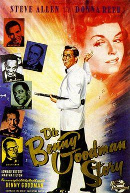 """Постер к фильму """"История Бенни Гудмана"""" /The Benny Goodman Story/ (1956)"""