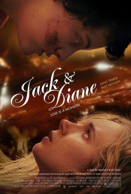 """Постер к фильму """"Джек и Дайан"""" /Jack and Diane/ (2012)"""