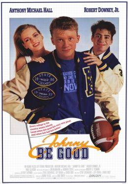 """Постер к фильму """"Джонни, будь хорошим"""" /Johnny Be Good/ (1988)"""