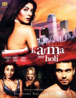 "Постер к фильму ""Карма"" /Karma, Confessions and Holi/ (2009)"