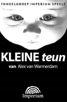 """Постер к фильму """"Малыш Тони"""" /Kleine Teun/ (1998)"""