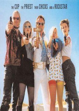 """Постер к фильму """"Коп, священник, их телки и рок-звезда"""" /The Cop, the Priest, Their Chicks, and a Rockstar/ (2009)"""