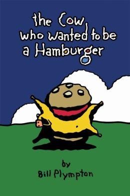 """Постер к фильму """"Корова, которая хотела стать гамбургером"""" /The Cow Who Wanted to Be a Hamburger/ (2010)"""