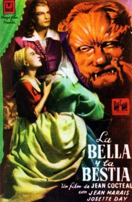 "Постер к фильму ""Красавица и чудовище"" /La belle et la bête/ (1946)"