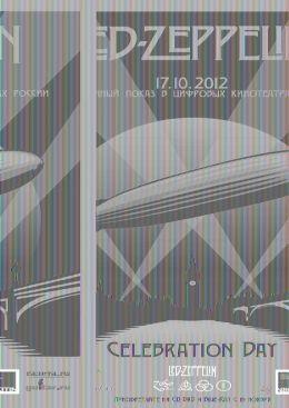 """Постер к фильму """"Led Zeppelin - Celebration Day"""" /Led Zeppelin - Celebration Day/ (2012)"""