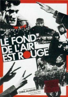 """Постер к фильму """"Цвет воздуха - красный"""" /Le fond de l'air est rouge/ (1977)"""
