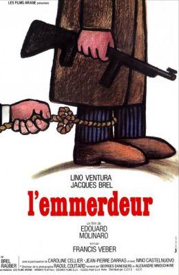 "Постер к фильму ""Зануда"" /L'Emmerdeur/ (1973)"