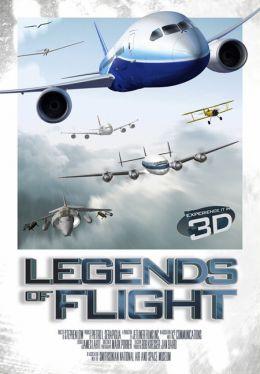 """Постер к фильму """"Легенды о полете 3D"""" /Legends of Flight/ (2010)"""