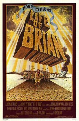 """Постер к фильму """"Житие Брайана по Монти Пайтон"""" /Life of Brian/ (1979)"""