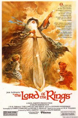 "Постер к фильму ""Властелин колец"" /The Lord of the Rings/ (1978)"