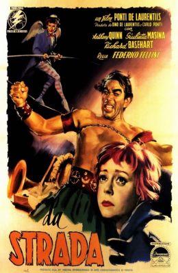 """Постер к фильму """"Дорога"""" /La Strada/ (1954)"""