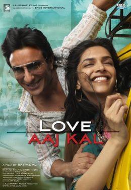 """Постер к фильму """"Любовь вчера и сегодня"""" /Love Aaj Kal/ (2009)"""