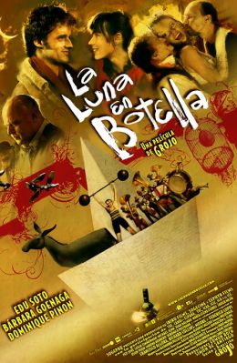 """Постер к фильму """"Луна в бутылке"""" /La Luna en botella/ (2007)"""