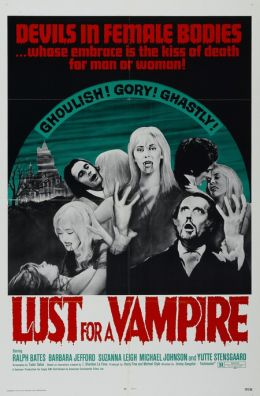 """Постер к фильму """"Влечение к вампиру"""" /Lust for a Vampire/ (1971)"""