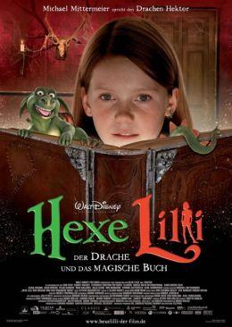 "Постер к фильму ""Магическая книга и дракон"" /Hexe Lilli: Der Drache und das magische Buch/ (2009)"
