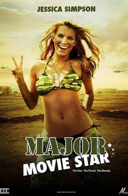 """Постер к фильму """"Кинозвезда в погонах"""" /Major Movie Star/ (2008)"""