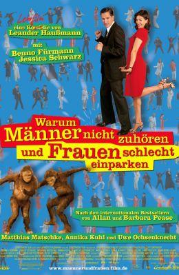 """Постер к фильму """"Почему мужчины никогда не слушают, а женщины не умеют парковаться?"""" /Warum Manner nicht zuhoren und Frauen schlecht einparken/ (2007)"""