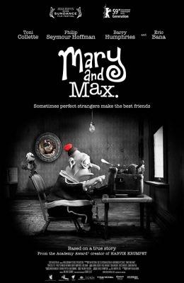 "Постер к фильму ""Мэри и Макс"" /Mary and Max/ (2009)"