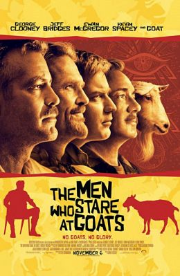 """Постер к фильму """"Безумный спецназ"""" /The Men Who Stare at Goats/ (2009)"""