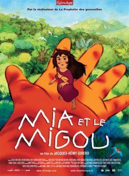 """Постер к фильму """"Миа и Мигу"""" /Mia et le Migou/ (2008)"""