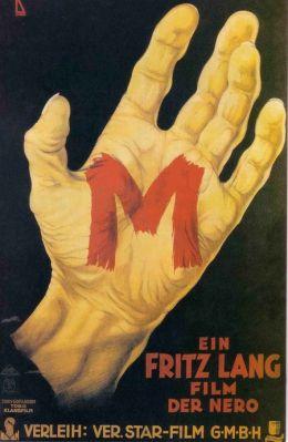 """Постер к фильму """"М - город ищет убийцу"""" /M/ (1931)"""